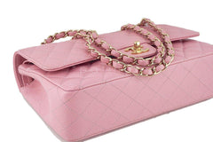 Chanel Pink Caviar Medium Classic 2.55 Double Flap Bag - Boutique Patina  - 7