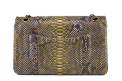 Chanel Limited Gold Python 226 Classic Reissue 2.55 Flap Bag - Boutique Patina  - 5