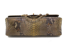 Chanel Limited Gold Python 226 Classic Reissue 2.55 Flap Bag - Boutique Patina  - 6