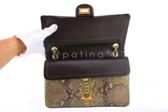 Chanel Limited Gold Python 226 Classic Reissue 2.55 Flap Bag - Boutique Patina  - 12