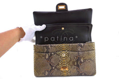 Chanel Limited Gold Python 226 Classic Reissue 2.55 Flap Bag - Boutique Patina  - 13
