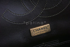 Chanel Limited Gold Python 226 Classic Reissue 2.55 Flap Bag - Boutique Patina  - 14