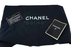 Chanel Black Patent Vintage Grand Shopper Tote GST Chunky Chain Bag - Boutique Patina  - 13