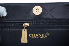 Chanel Black Classic Quilted Shopper Tote Bag - Boutique Patina  - 10