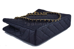 Chanel Black Caviar Classic Quilted Shopper Tote Bag - Boutique Patina  - 7