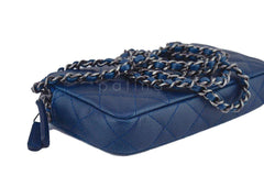 Chanel Caviar Blue Mini Camera Case Wallet on Chain WOC Bag - Boutique Patina  - 7