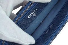 Chanel Caviar Blue Mini Camera Case Wallet on Chain WOC Bag - Boutique Patina  - 10