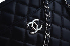Chanel Black Classic 2.55 Camera Case Bag