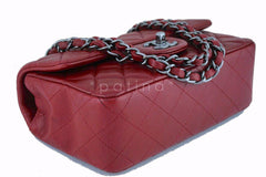 Chanel Red Classic Quilted Rectangular Mini 2.55 Flap Bag