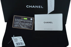 Chanel Black Rare Trendy CC Classic Wallet on Chain WOC Flap Bag