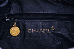 Chanel Vintage Black Caviar Camera Case Bag 24k GHW