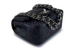 Chanel Black Caviar Square Mini Classic Flap Bag SHW