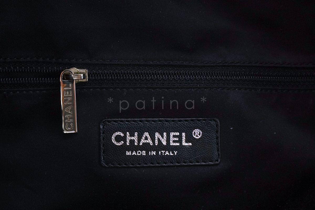 f8c3dcdc41b2 ... Chanel Silver XL LIMITED Summer Nights Reversible Sequins Hobo Tote Bag  ...
