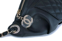 NIB Chanel Black Calfskin