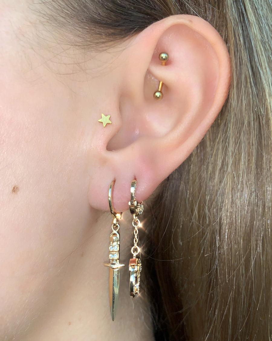 BABY MENOTTES EARRING
