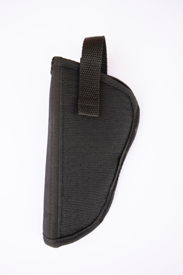 Kohroo Holster with entire back surface area of Hook & Loop velcro for strong hold carpeted surfaces