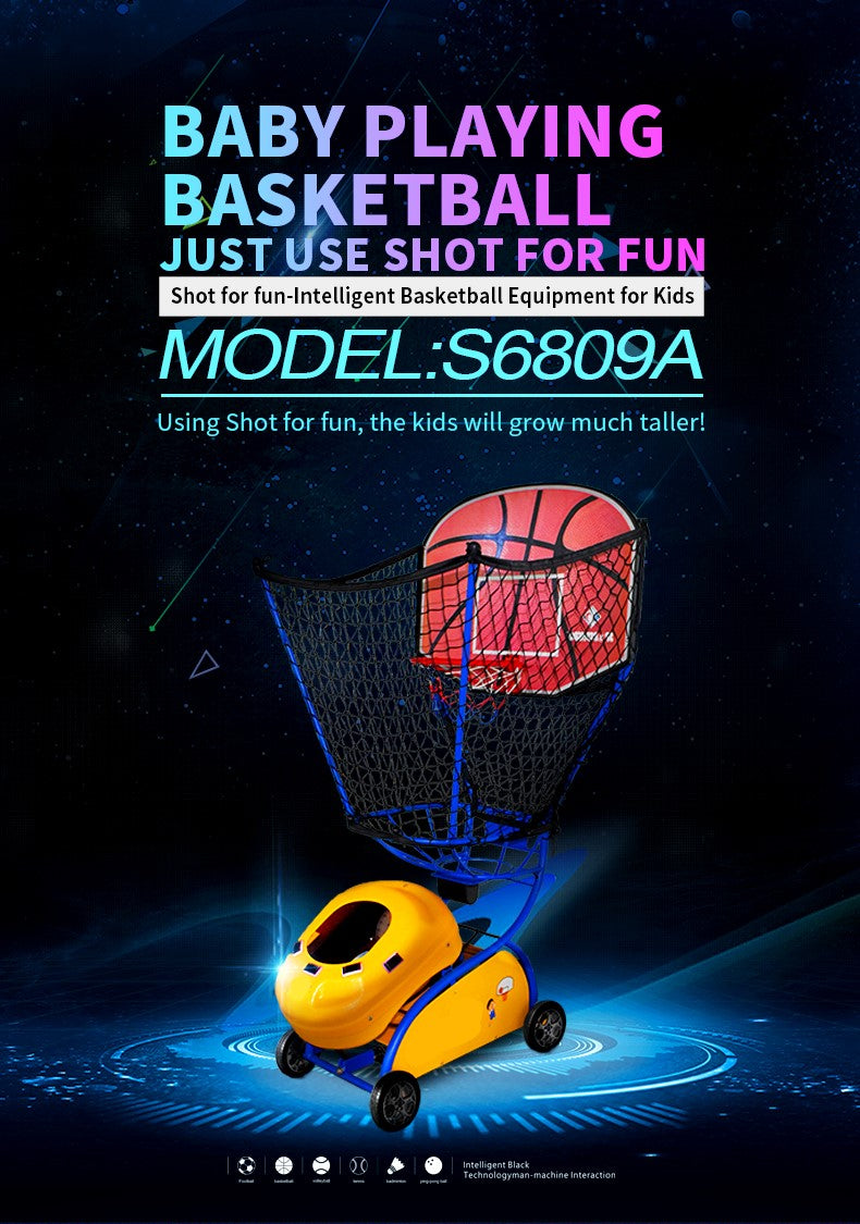 Kids Basketball Training Machine - Fun for Kids