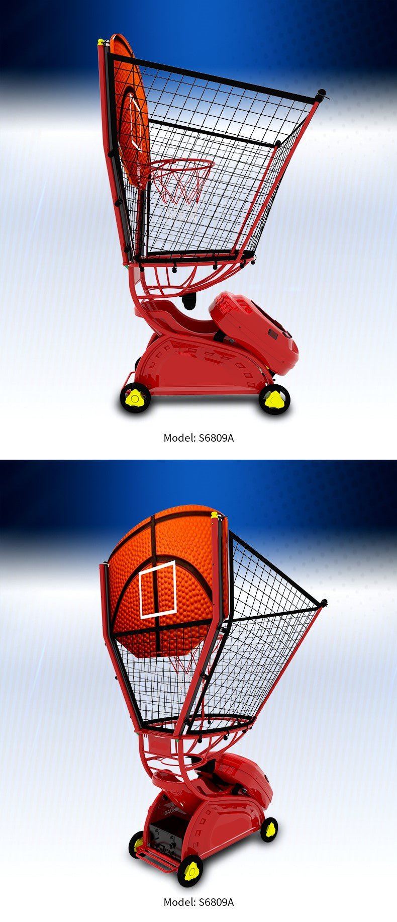 Kids Basketball Training machine - Product Photos