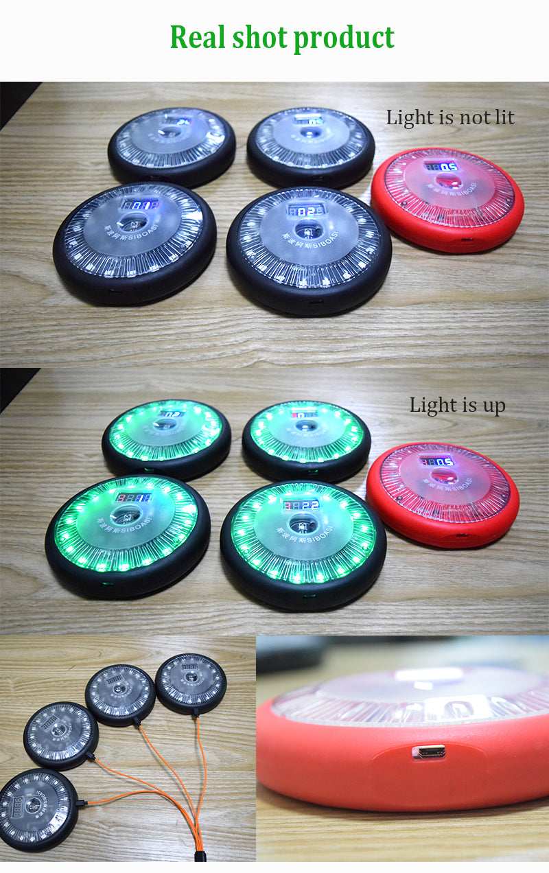 Reaction Lights : Product Photos