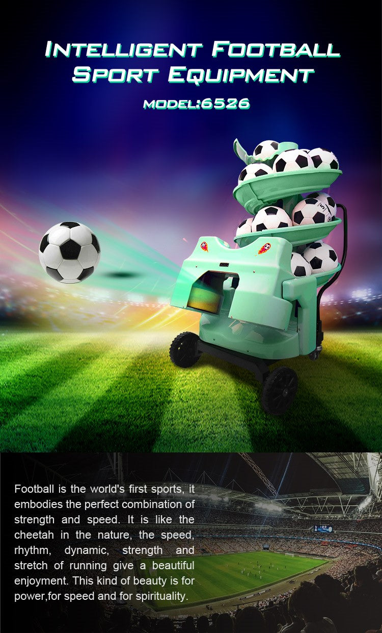 Football Training Machine : Product Introduction