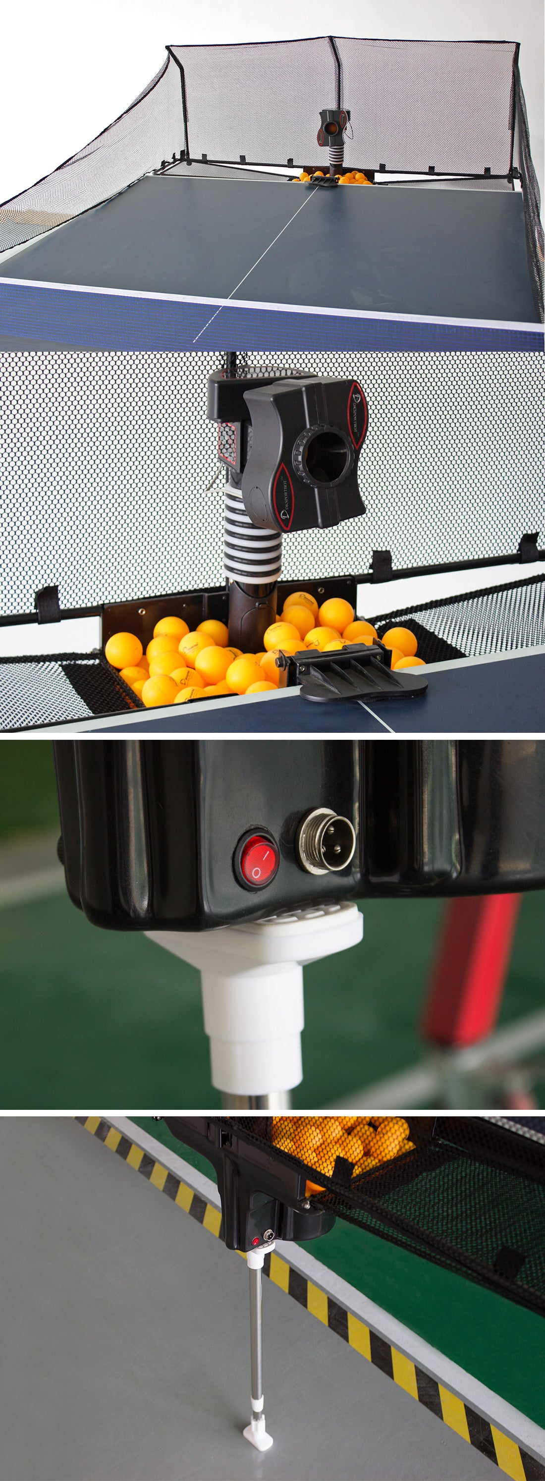 Table Tennis Training Ball Throwing Machine : Product Display 2