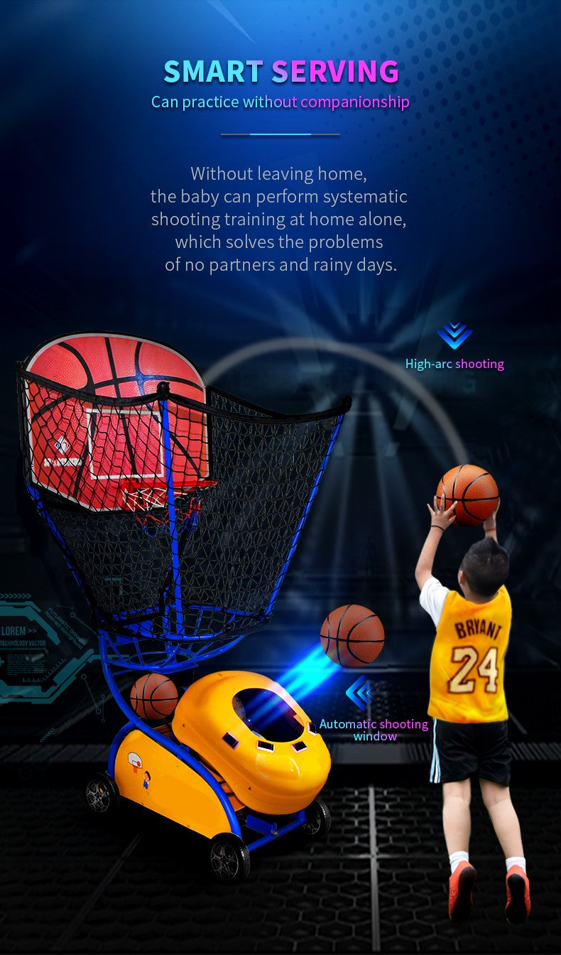 Kids Basketball Training machine - Smart Ball Service