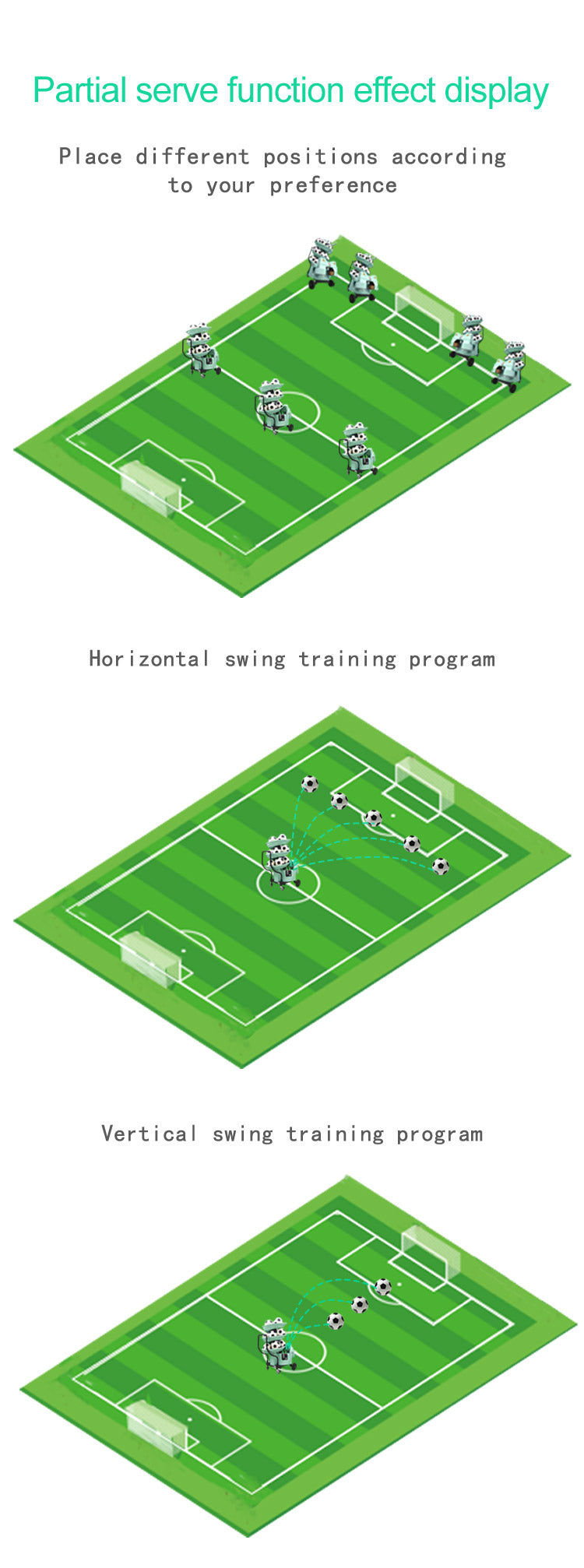 Football Training Machine : Football Serving Function 1