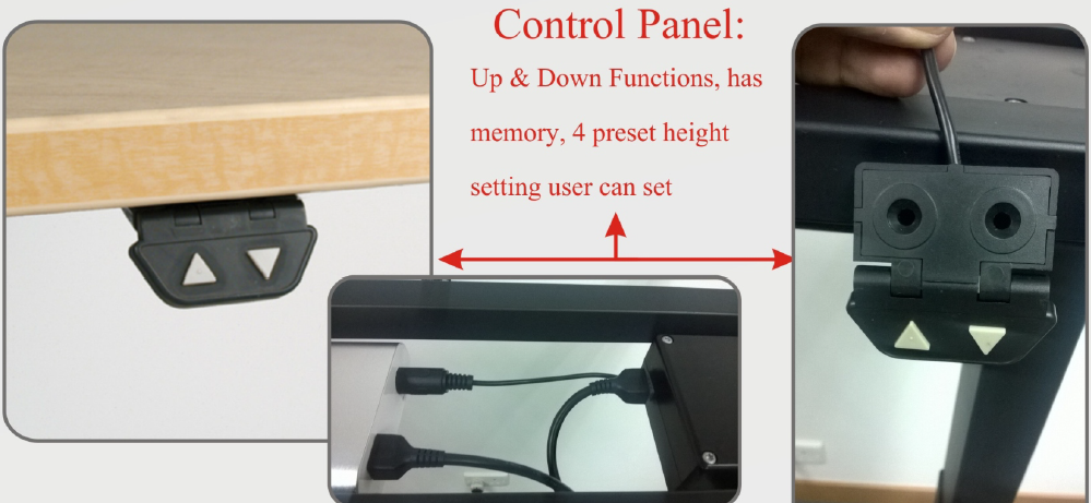 Standing Workstation ( Electric ) : Control Panel