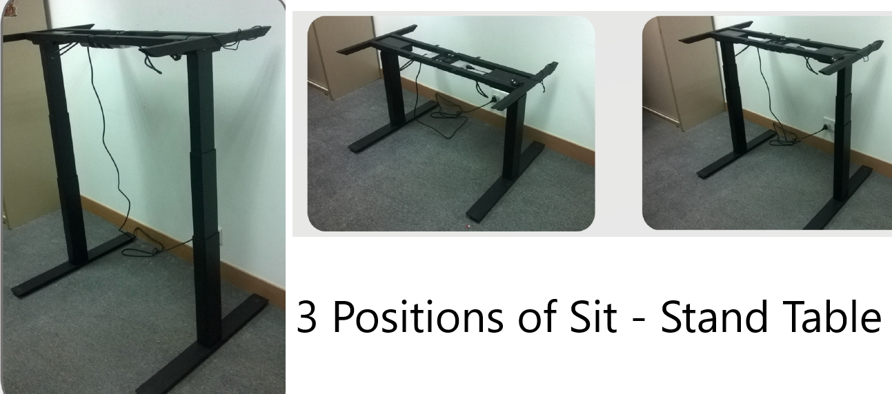 Standing Workstation ( Electric ) : 3 positions