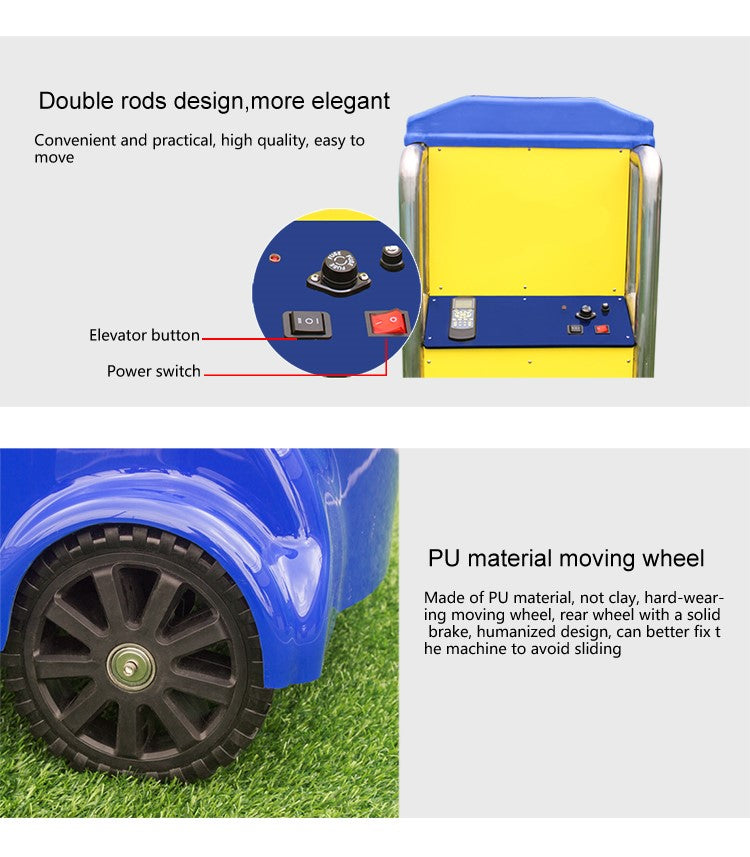 Volleyball Ball Throwing Training Machine : Product Details 2