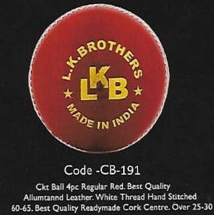 Cricket Leather Balls ( Pack of 6 )