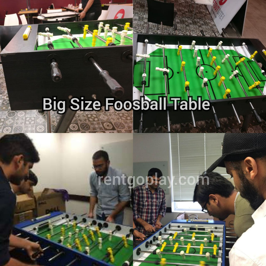 Manual Wooden Foosball Soccer Table