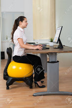 Load image into Gallery viewer, Yoga Ball Chair