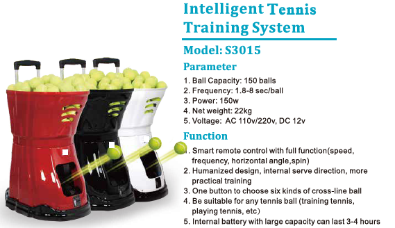 Lawn Tennis Ball Throwing Training Machine