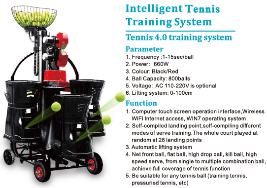 Triple Tennis Training System 4.0