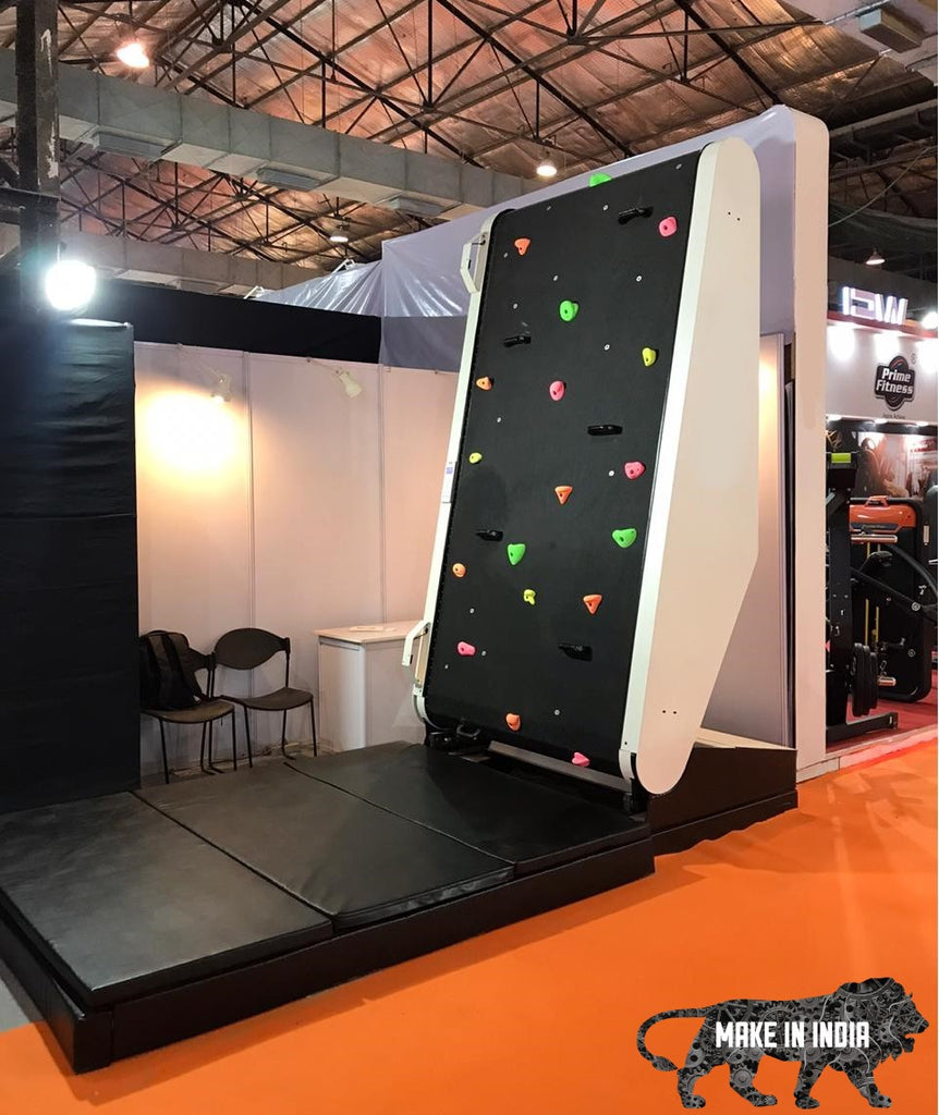 Indoor Treadmill Climbing Training Wall