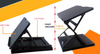 Height Adjustable Office Laptop Stand