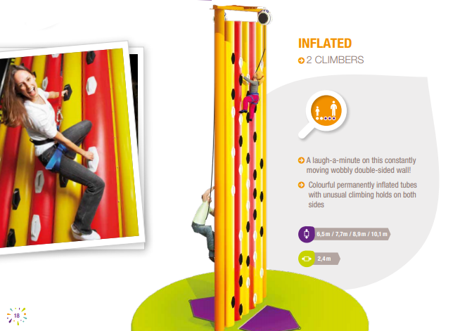 Climbing Wall - Inflated