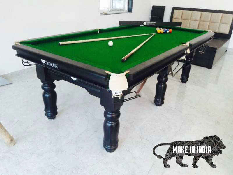 British Pool Table in green