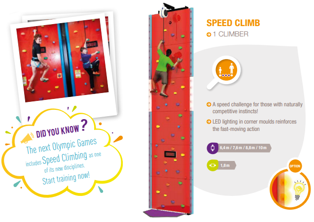 Speed Climb ( With Lighting Effect)