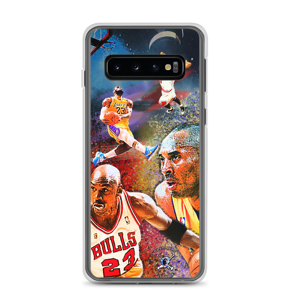 NBA Lakers Bulls Samsung Case - PREMIUM FATURE
