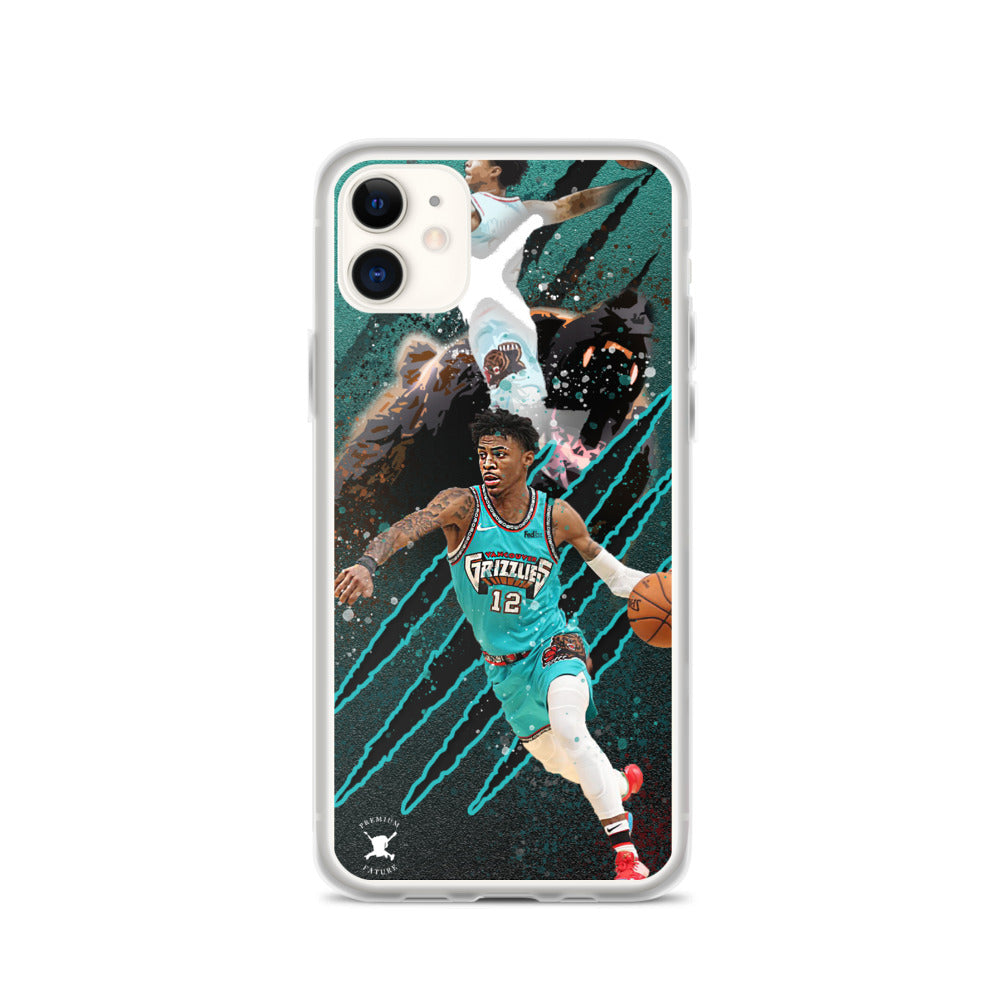 Ja Morant Sleek iPhone Case - PREMIUM FATURE