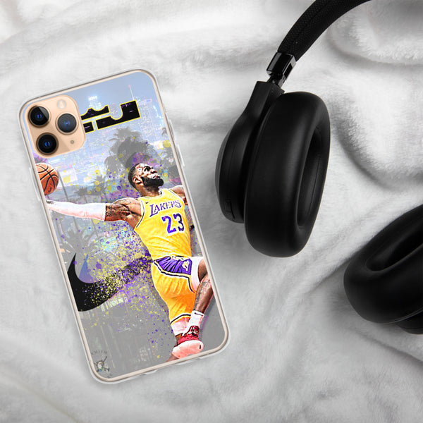 Lebron James Lakers iPhone Case - PREMIUM FATURE