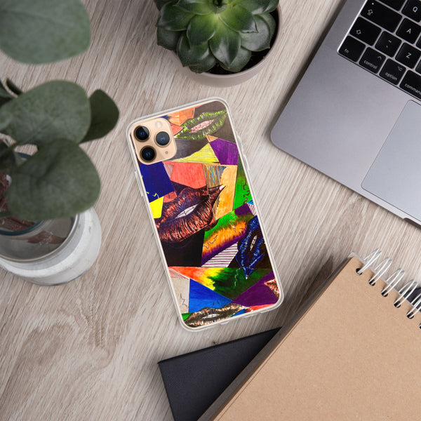 Abstract Lips iPhone Case - PREMIUM FATURE