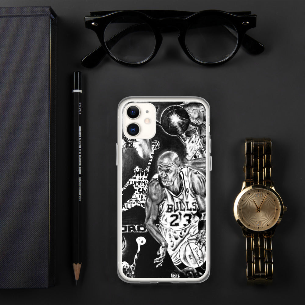 Micheal Jordan Art iPhone Case - PREMIUM FATURE
