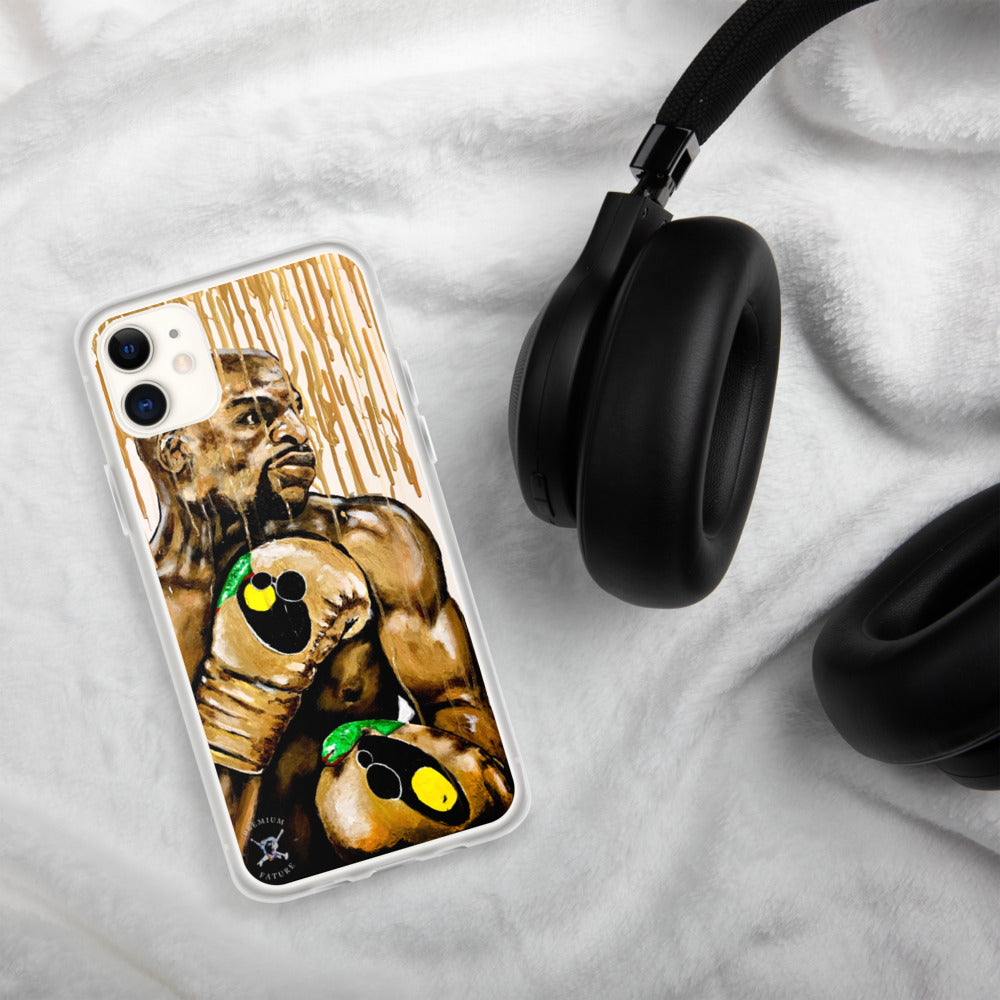 "Floyd Mayweather ""Gold Drip"" iPhone Case - PREMIUM FATURE"