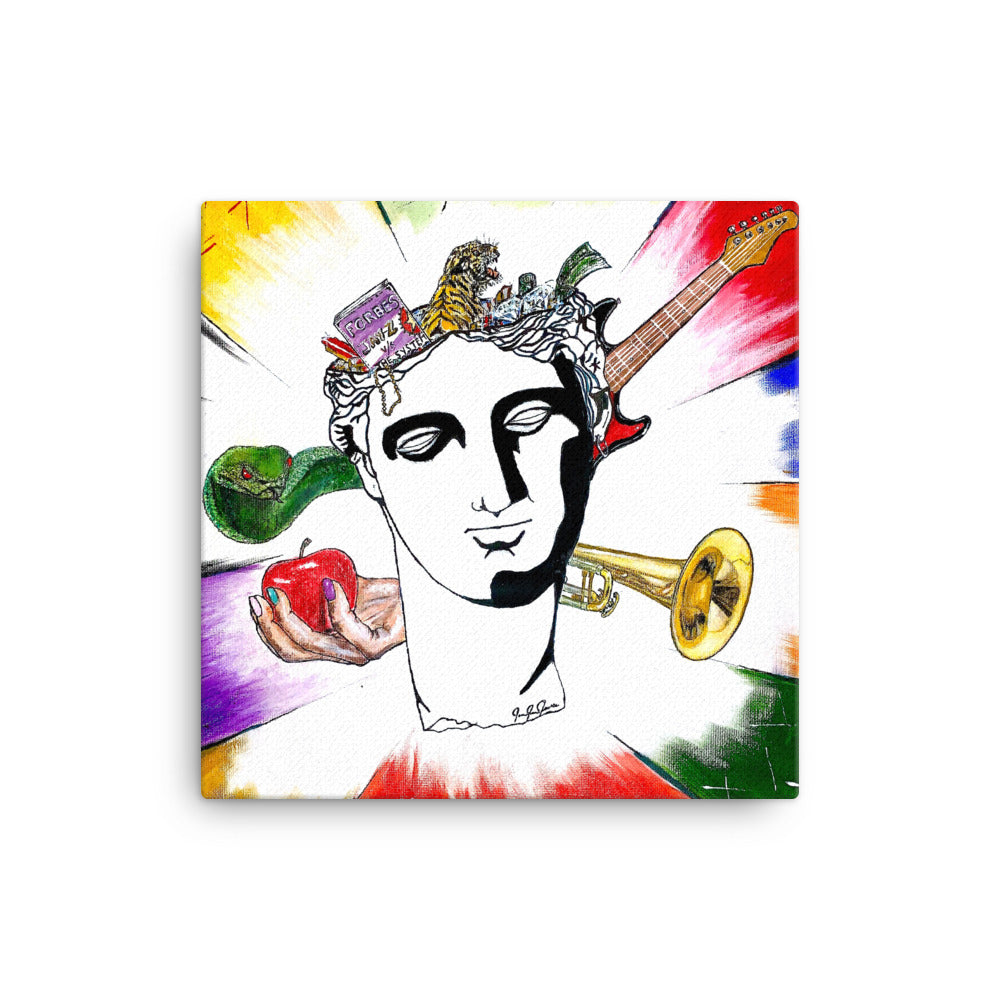 Statue Of David Canvas Art - PREMIUM FATURE