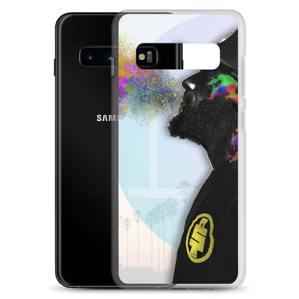 Nipsey Hussle Abstract Art Samsung Case - PREMIUM FATURE
