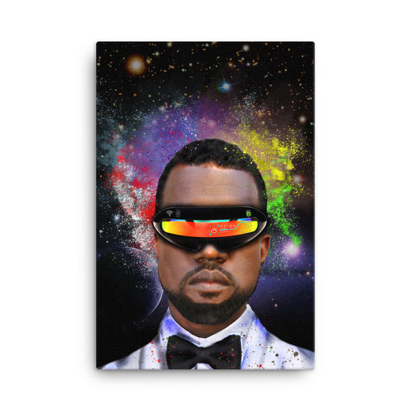 Kanye West Abstract Canvas - PREMIUM FATURE