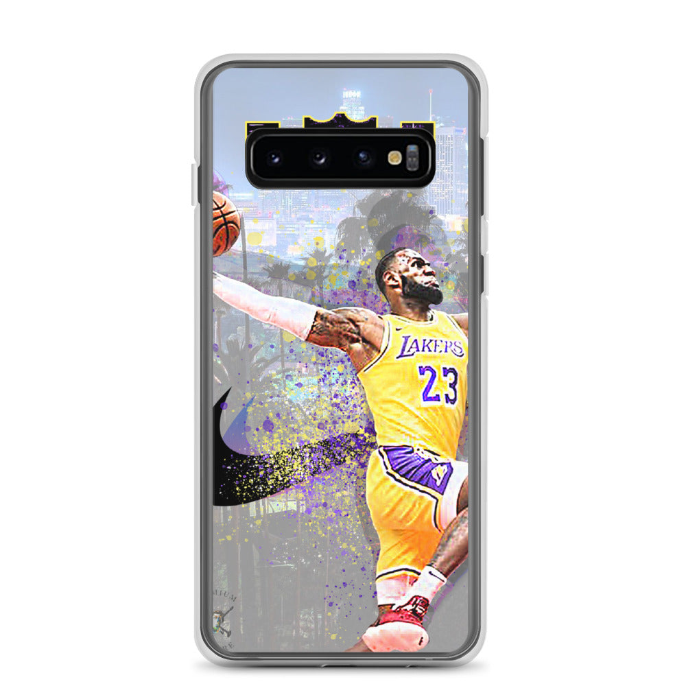 Lebron James Lakers Samsung Case - PREMIUM FATURE